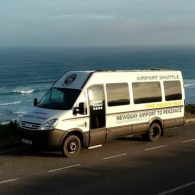 Newquay Airport to Penzance, Cornwall - Discount voucher with The Pirate Bus.