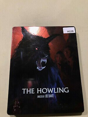 The Howling -  Steelbook  [Blu-ray] AS IS!! H129