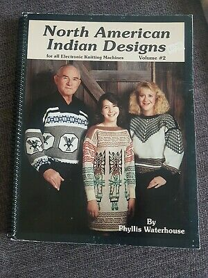 North American Indian Designs For All electronic Knitting Machines Volume#2