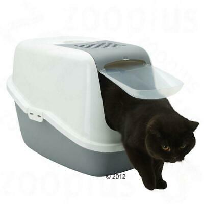 Covered Litter Tray Box XL Extra Large Cat Toilet & Extra Free Carbon Filter