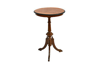 Antique Swedish Victorian Style Walnut Pedestal Table 19th century