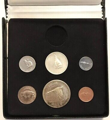 1967 Canada Silver Coin Set Without Gold In .Org.box