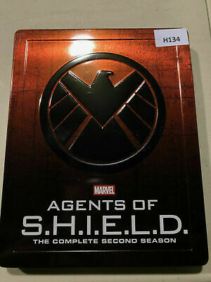 Marvel Agents Of S.H.I.E.L.D Season Two - Steelbook  [Blu-ray] AS IS!! H134
