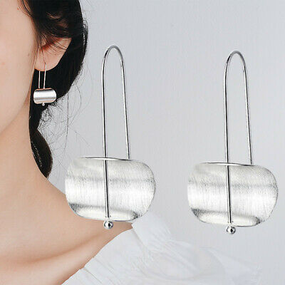 925 Silver Jewelry Woman Silver Hook Earrings Dangle Drop Hook Eardrop Gift