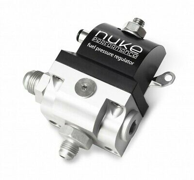 NUKE Performance Benzindruckregler (Dash 8 Einlass, Dash 6 Auslass)