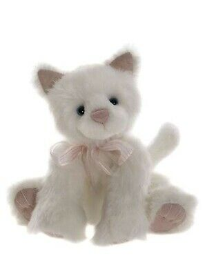 SPECIAL OFFER! 2017 Charlie Bears SNOWDROP Cat Winter Collection (RRP £38)