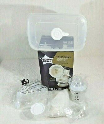 Tommee Tippee Closer to Nature Manual Breast Pump - White Brand New In Box
