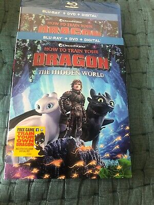 How to Train your Dragon:The Hidden World (Blu-Ray & dvd only opened for code