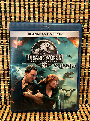 Jurassic World 2: Fallen Kingdom (1-Disc Blu-ray, 2018)Chris Pratt/Dinosaurs