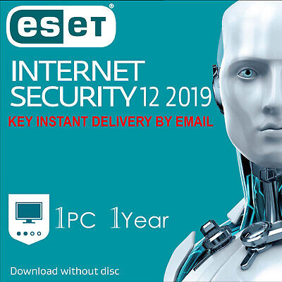 2019 ESET NOD32 Internet Security 1 Computers ,1 Year - Instant Delivery