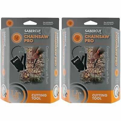 Ultimate Survival Technologies SaberCut Chainsaw Pro Heavy-Duty Saw (2-Pack)