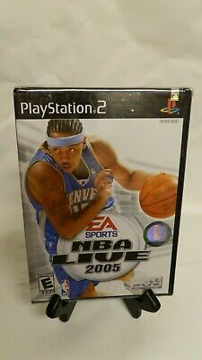 NBA Live 2005 (Sony PlayStation 2, 2004) NEW!