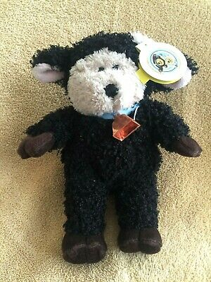 "Starbucks 2004 Bearista Easter Bear In Sheep Costume 10"" Plush Toy - Black Sheep"