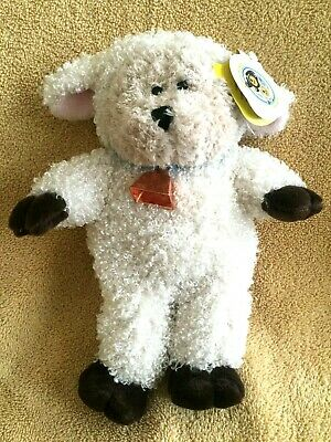 "Starbucks 2004 Bearista Easter Bear In Sheep Costume 10"" Plush Toy - White Sheep"