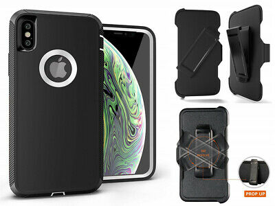 For Apple iPhone X/XS XR XS MAX Case w/ Belt Clip | Fit Otterbox Defender Series