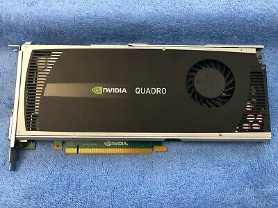 NVIDIA QUADRO 4000 for Apple Mac Pro Genuine not Flashed 2GB DVI - Display  Ports