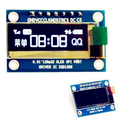 0.91 inch 7Pin SPI Wei? OLED LCD Display DIY Module For Arduino DG