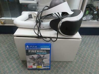 Sony Playstation PS4 - VR Headset with GUN and FIREWALL GAME