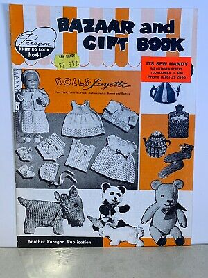 Bazaar And Gift Book - Paragon Knitting Book No 41 - Dolls Layette