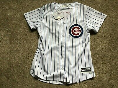 big sale fa5d6 7054a NEW KRIS BRYANT Chicago Cubs WOMENS NWT Jersey MSRP $100 Majestic Medium M