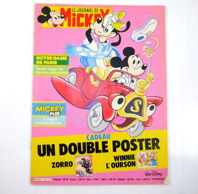 Le Journal De Mickey Octobre 1985 Micky Mouse Rivista Fumetti Disney ( Wrz )