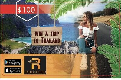 Rideo Rider $100 Gift Card