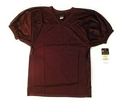 a7f7d2c44 NEW Wilson Deluxe Youth MEDIUM Football Game Jerseys / Orange and Maroon  Colors