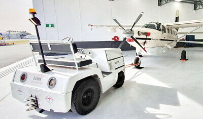 Clark CT-50 5000lb Aircraft Tug / Baggage Towing Tractor