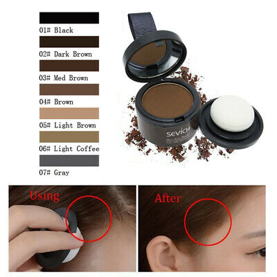 7Colors Hair Fluffy Powder Instantly Black Root Cover Up Hairline Shadow Powder