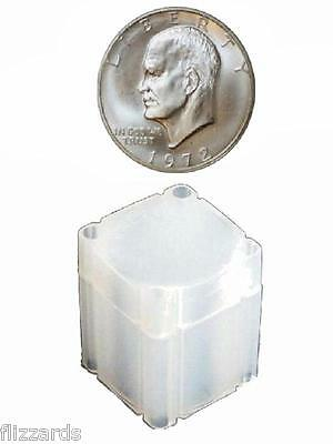 Large Dollar Square Coin Tube Storage, Numis Brand 38mm - 50 pack