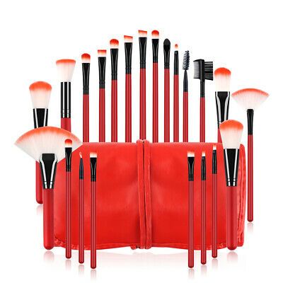 22pcs/set Professional Cosmetic Makeup Brush Foundation Brushes with Bag Case