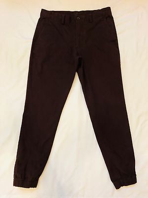 c0ab49d640fe OLD NAVY MENS Young Mens Brown Khaki Jogger With Stretch 32 - $20.00 ...