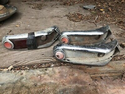 1949 Monarch Tail Lights Taillight Ford Canada Canadian Lites 40s Original Part