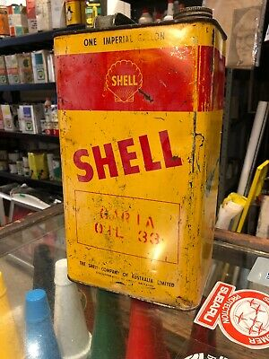 Shell Vintage Gal Oil Can