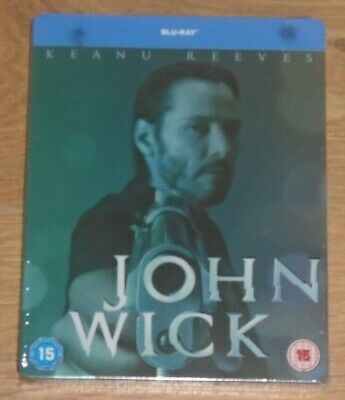 John Wick (blu-ray) Steelbook. NEW & SEALED (UK release)
