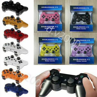 1/2PCS  Wireless Bluetooth Game Controller Dual Shock For Sony PS3 PlayStation 3