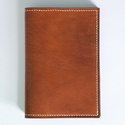 Horween leather passport cover