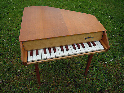 ☆ RARE TOY PIANO A QUEUE JOUET MUSICAL MICHELSONNE 30 touches see VIDEO  ☆