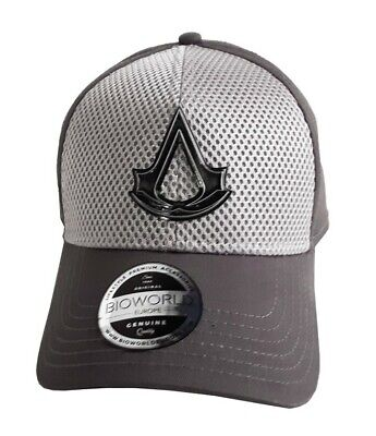 Assassin's Creed – Metal Crest Logo Curved Cap