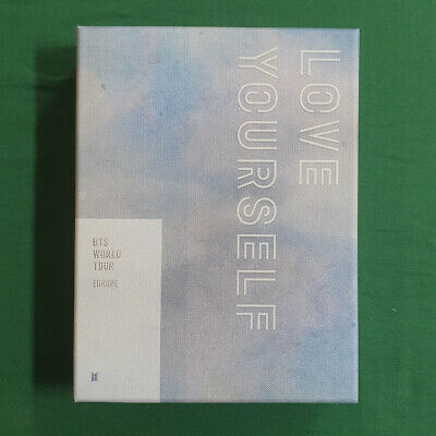 [Pre-Owned/ No Photocard] BTS Love Your Self Tour Europe DVD Genuine Kpop