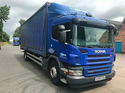 Scania P-SRS D-CLASS 230 4x2 SLEEPER CAB TAIL LIFT CURTAIN SIDE