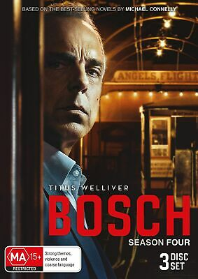 Bosch Season Four Box Set DVD Region 4 NEW