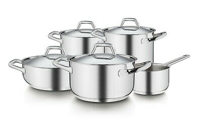 Barazzoni Chef Line Set Pentole 9 pezzi Made in italy Disponibilità immediata