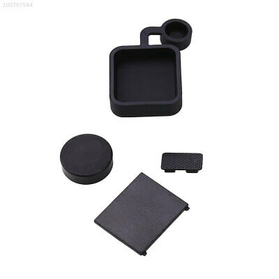 D6F4 4Pcs Protective Lens Battery Door Side Case Cover Cap For GoPro Hero 3+ 4