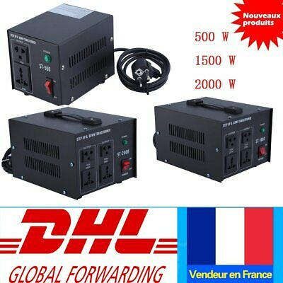 Step UP & Down Converter transformateur de tension 230V- 110V AC Voltage 500W