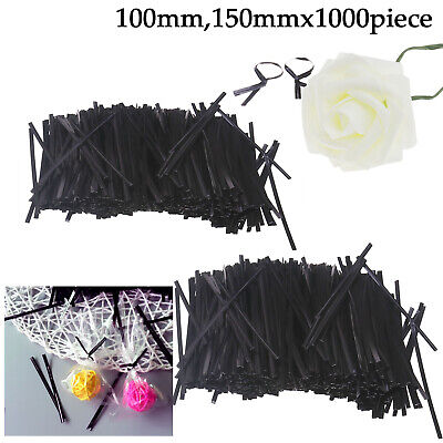 Plastic Twist Ties for Clear Cello Cellophane Christmas Sweet Party Decor