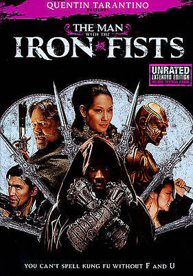 The Man With the Iron Fists Lucy Liu (DVD, 2013, Unrated)