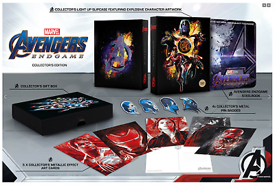 Avengers Endgame 4K Zavvi Exclusive Limited Collector's Edition Steelbook NEW