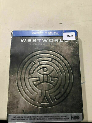 Westworld Season One: The Maze- Limited Edition Steelbook [Blu-ray] AS IS!! H224