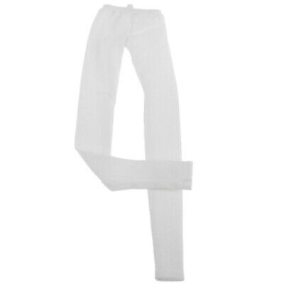 Fashion doll clothes skinny pants leisure trousers for 1/4 BJD doll, white